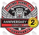 Logo HUT Anniversary CYBER