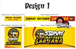 Sticker Branding Gerobak d