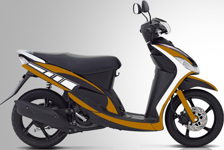 Yamaha mio sporty 2009 cutting design by mod melati portal design