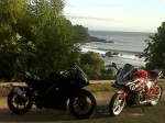 M-CBR250 with Kawasaki Ninja BLACK